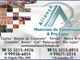 Materiais de Construção Aliança
