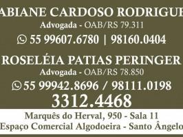 Advogadas Fabiane Cardoso Rodrigues