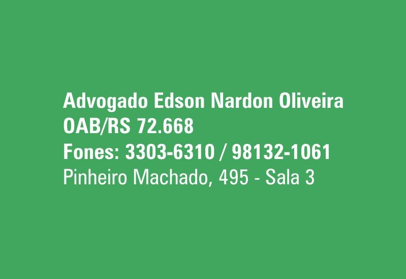 Advogado Edson Nardon Oliveira