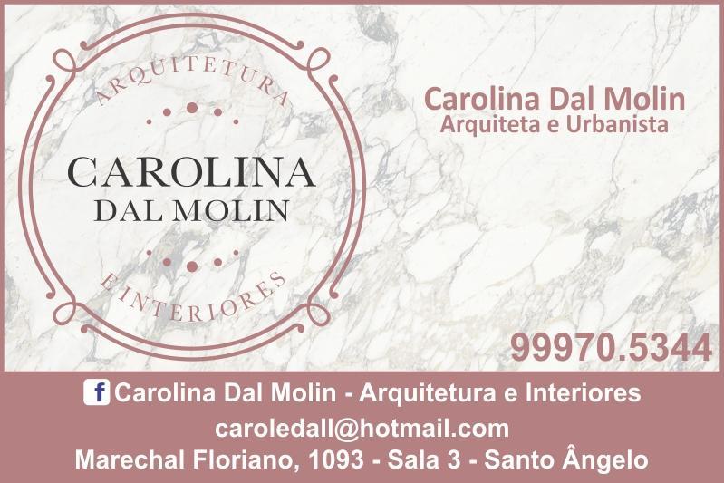 Arquiteta Carolina Dal Molin