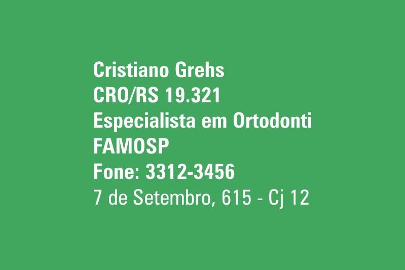 Cristiano Grehs - Implantodontia