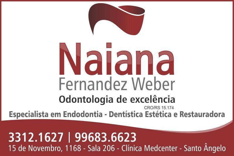 Dentista Naiana Fernandez Weber