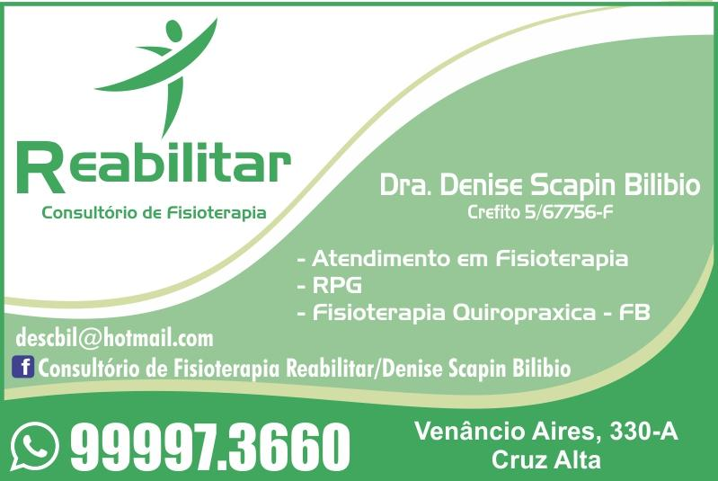 Consultório de Fisioterapia Reabilitar
