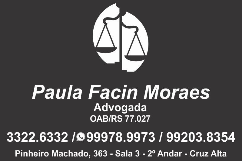 Advogada Paula Facin Moraes