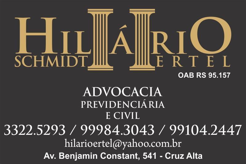Advogado Hilário S Ertel