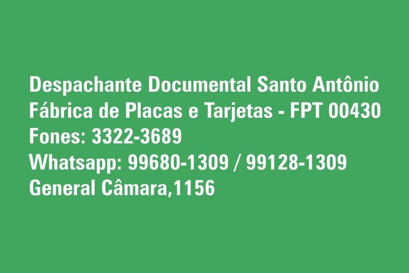 Despachante Documental Santo Antônio