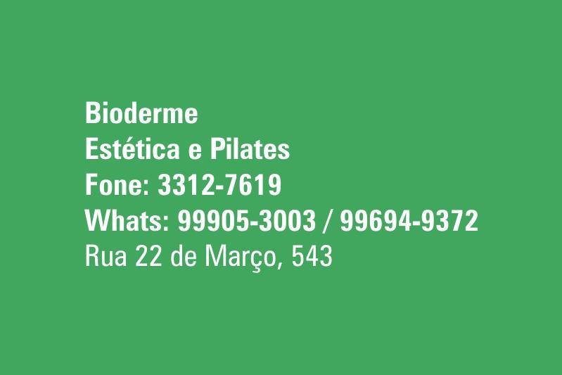 Bioderme Estética e Pilates