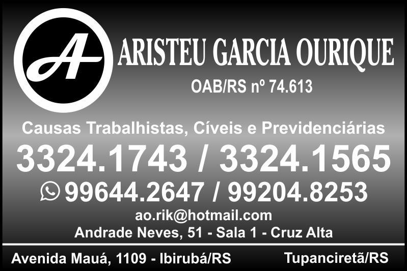 Advogado Aristeu Garcia Ourique