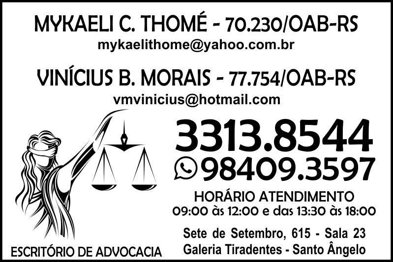 Advogada Mykaeli C Thomé