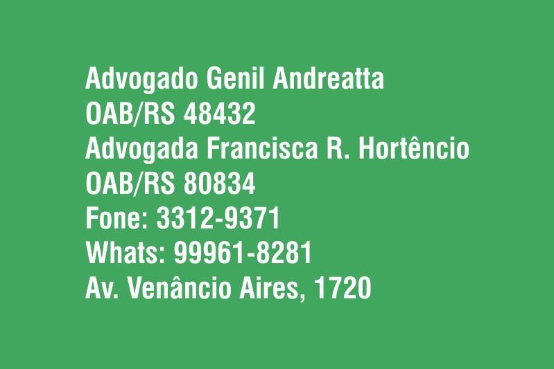 Advogado Genil Andreatta