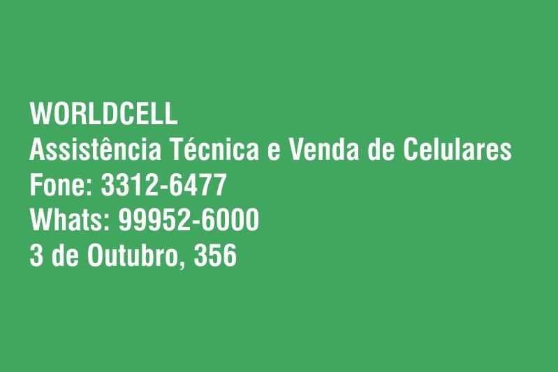 Assistência Técnica e Venda de Celulares Worldcell
