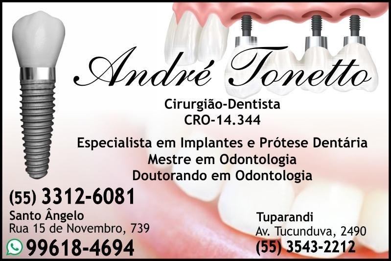 André Tonetto - Odontologias