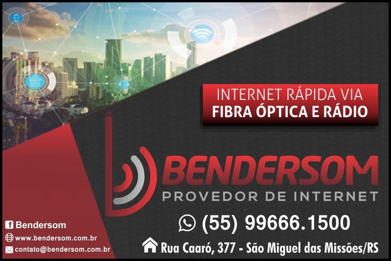 Bendersom Via Rádio e Internet