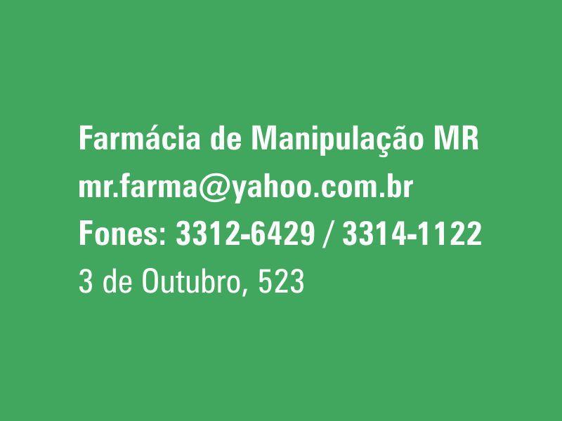 Farmácia de Manipulação Mr