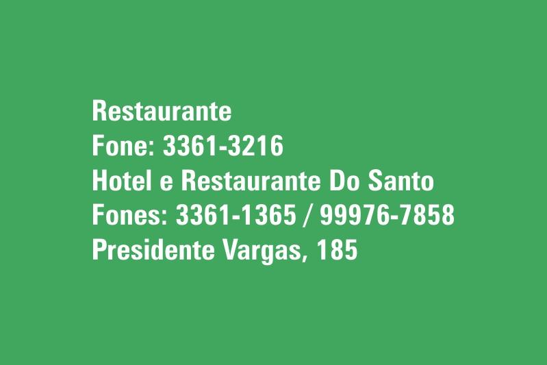 Hotel E Restaurante Do Santo
