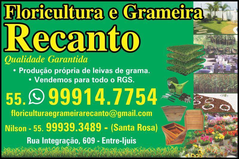 Floricultura e Grameira Recanto